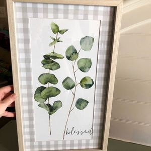 Other - Small framed leaf picture